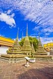 Pagoden van gestorven mensen in Wat Pho royalty-vrije stock afbeelding
