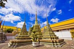 Pagoden van gestorven mensen in Wat Pho royalty-vrije stock afbeeldingen