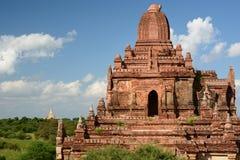 Pagodenabschluß Myauk Guni oben von Taung Guni Bagan myanmar Stockfotografie