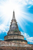 Pagodentempel chiangmai Thailand Lizenzfreie Stockfotos