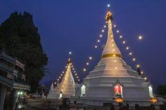 Pagoder av Thailand Royaltyfri Foto