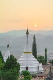 Pagoder av Thailand Royaltyfri Fotografi