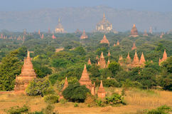 Pagodes budistas Foto de Stock