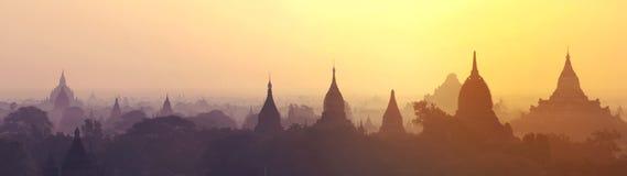 Pagodes de Bagan Foto de Stock Royalty Free