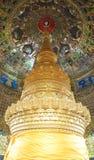 500 pagodes dourados Fotos de Stock Royalty Free