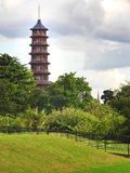 Pagodetoren in Kew-Tuinen Royalty-vrije Stock Foto's