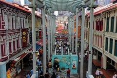 Pagodgata, Singapore, Sophouses royaltyfri foto