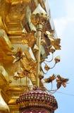 Pagodhöjdpunkt i templet Royaltyfria Bilder