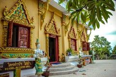 PagodLaem Sor, Thailand Koh Samui Arkivbilder