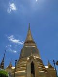 Pagodowa świątynia Szmaragdowy Buddha Obrazy Stock