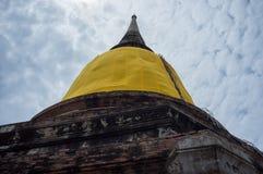 Pagodowa Świątynna Ayutthaya Tajlandia podróż Obraz Stock