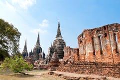 pagodowa ruina Thailand Zdjęcie Stock