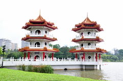 pagodowy bliźniak Obraz Royalty Free