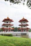pagodowy bliźniak Zdjęcia Royalty Free