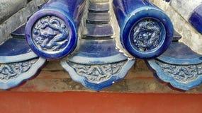 Pagodowy dach obrazy royalty free