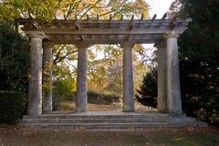 pagodowy filarów rzymskiego stylu trellis zdjęcia stock