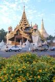 pagodowy shwedagon Yangon Obrazy Royalty Free