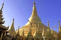 pagodowy shwedagon Yangon myanmar Zdjęcie Stock