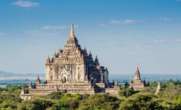 Pagodowy Thatbynnyu bagan Myanmar Obrazy Royalty Free