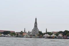 Pagodowy wata arun Bangkok Tajlandia, jeden najwięcej sławnej świątyni w Thialand zdjęcie royalty free