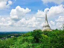 PagodPhra Nakhon Khiri Khao Wang historisk arkitektur Arkivfoton
