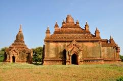 Pagody w Bagan, Myanmar zdjęcie royalty free