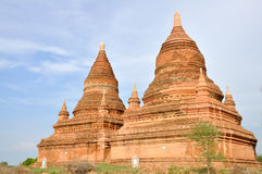 Pagody w Bagan, Myanmar obrazy stock