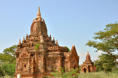 Pagody w Bagan, Myanmar obraz royalty free