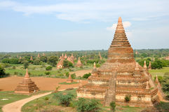 Pagody w Bagan, Myanmar zdjęcia royalty free