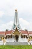Pagodyttersida på templet Royaltyfri Fotografi