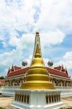 Pagodyttersida på wat Nong Bua Arkivbilder