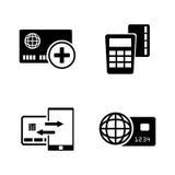 Pagos directos Iconos relacionados simples del vector libre illustration