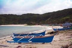 Pagudpud海滩 库存照片