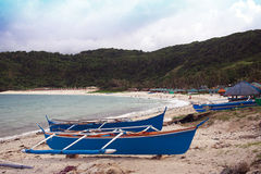 Pagudpud plaża Zdjęcia Stock