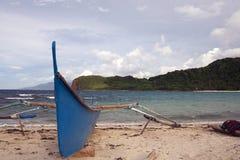 Pagudpud strand Arkivfoto