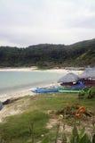 Pagudpud strand Royaltyfri Bild