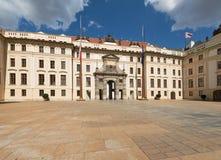 Pague: Pierwszy podwórze Praga kasztel, Matthias brama obraz royalty free