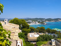 Paguera Beach, Mallorca. Paguera is a beach resort in the very southwest of Mallorca in Spain. It is part of the municipality of Calvia. It is particularly Royalty Free Stock Photo
