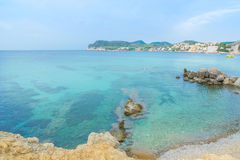 Paguera beach, Mallorca stock photography