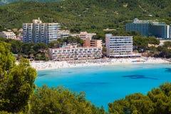 Paguera Beach, Mallorca Stock Image