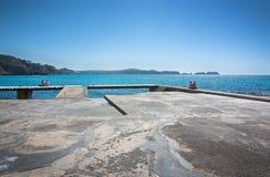 Paguera spring beach royalty free stock photo