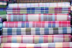 Pah-kah-mah; Thai loincloth. For multipurpose such as towel ,cradle Stock Image