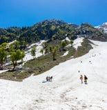 Pahalgam sightseeing, Jammu Kashmir, India tourism Stock Photo