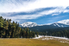 Pahalgam Valley Royalty Free Stock Photo