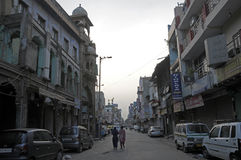 Paharganj. Daily life at paharhanj at new delhi india Royalty Free Stock Photography