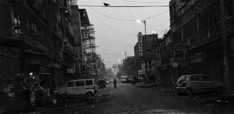 Paharganjh Nova Deli Foto de Stock Royalty Free