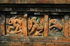 Paharpur Bihar Archeological sites in Bangladesh. Somapura Mahavihara known as Paharpur Bihar or Paharpur Vihara in UNESCO cultural heritage site in Bangladesh Royalty Free Stock Image