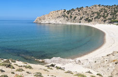 'Pahia ammos' beach at Samothraki island Royalty Free Stock Image
