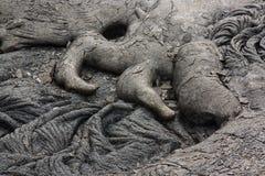 Pahoehoe lava Royaltyfri Foto