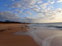 Pahohaku Beach at Dusk Royalty Free Stock Image